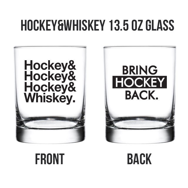 Hockey&Whiskey Glass Set [FREE SHIPPING]