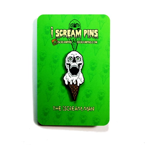 Image of The iScream Man Pin