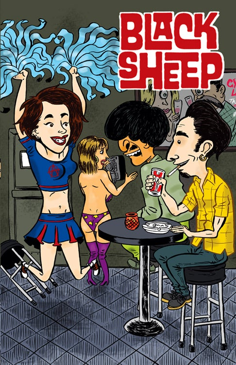 Image of Black Sheep #3