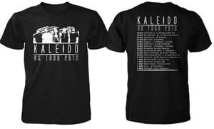 Image of LIMITED EDITION KALEIDO UK TOUR T-SHIRT