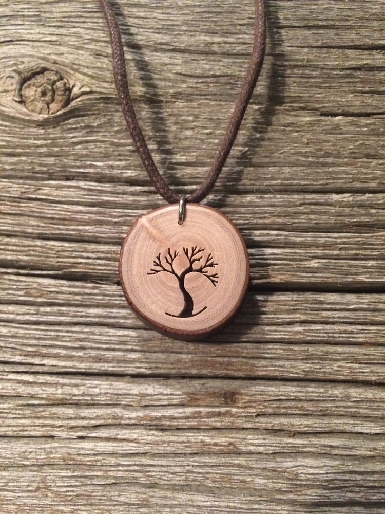 Image of Windy Tree Artisan ~ arbutus tree pendant