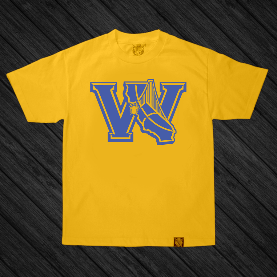 Image of The W's  (Yellow/Blue)
