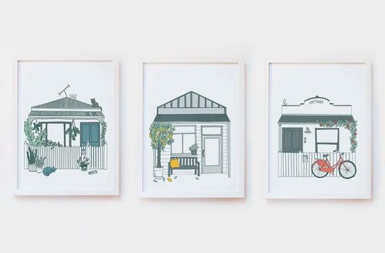 Image of House Art Print Set