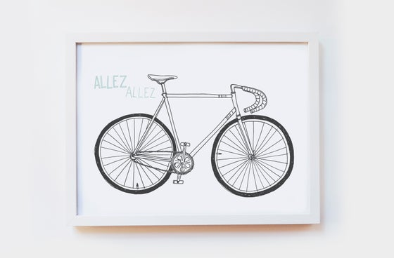 Image of Allez Allez Art Print