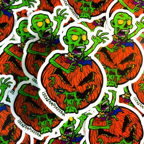 "Image of 3"" Trick Or Treat Sticker"