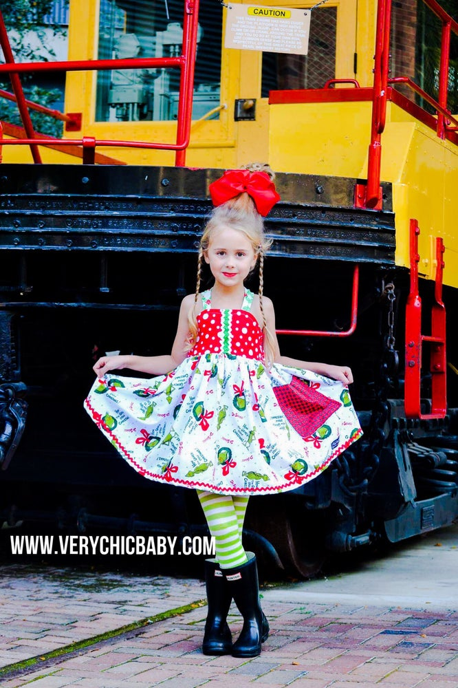 Image of Have a Grinch Christmas Dress