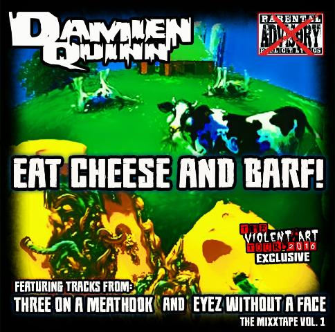 Image of DAMIEN QUINN - EAT CHEESE AND BARF LIMITED CD