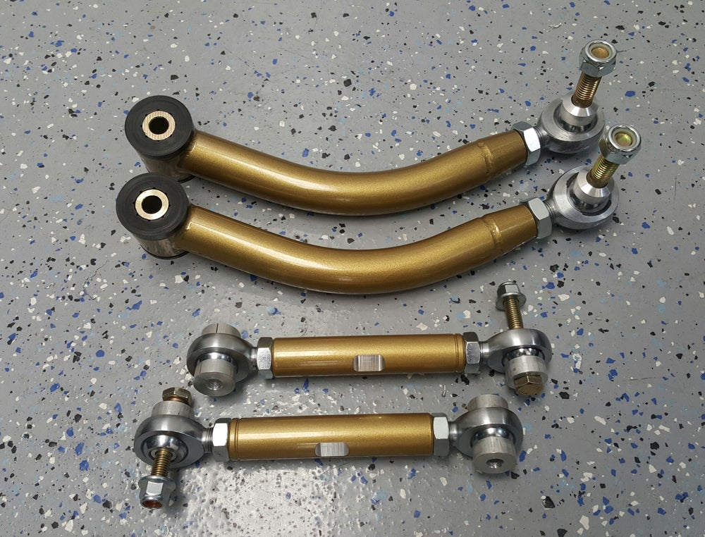 Image of BMW E38 E39 E60 Rear Adjustable Camber Arms and Toe Links