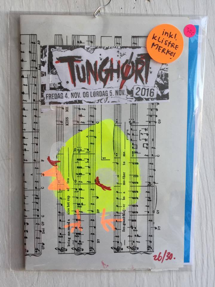 Image of TUNGHØRT 2016 Fanzine + Sticker!