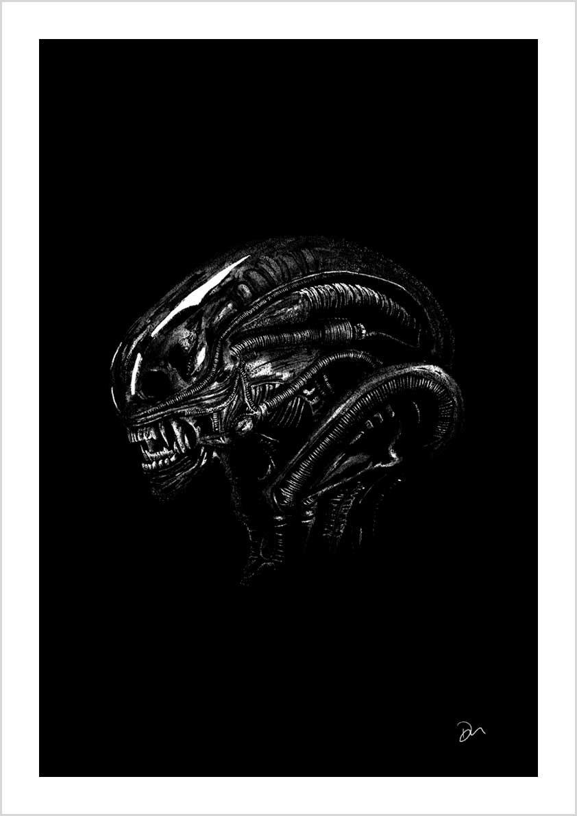 Image of 1st Edition Alien Xenomorph