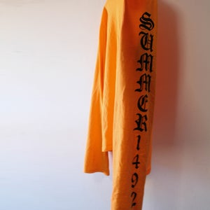 Image of Orange Long Sleeve Shirt