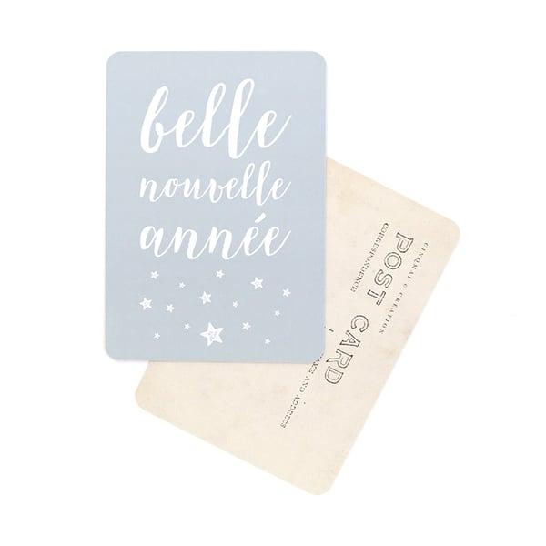Image of Carte Postale BELLE NOUVELLE ANNÉE / STELLA
