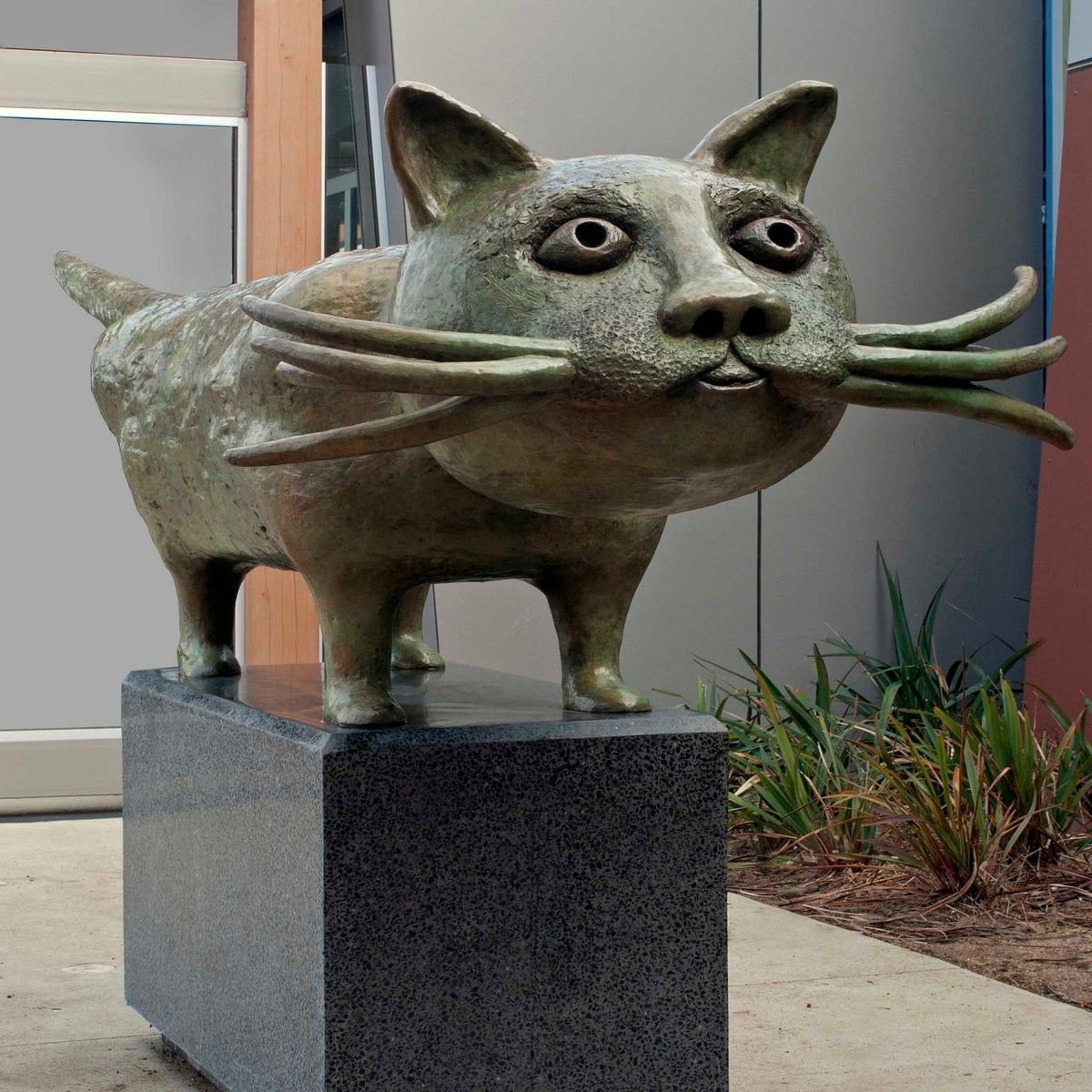 Image of Cat 2012 Bronze - Commission