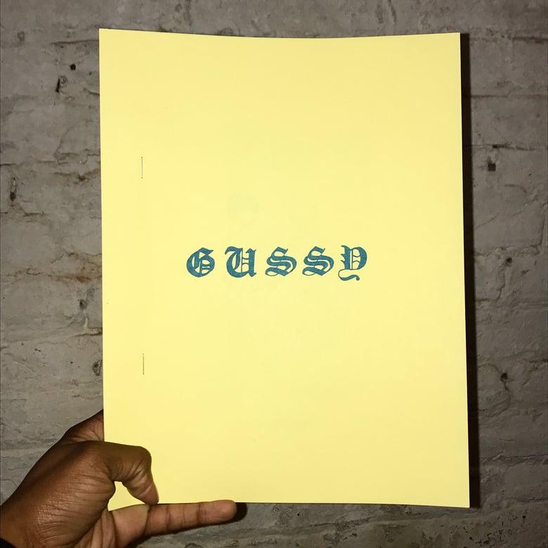 Image of GUSSY zine