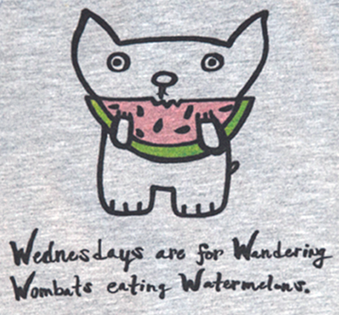 Image of Wombat Wednesdays SWEATSHIRT