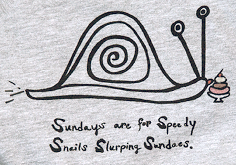 Image of Snail Sundays SWEATSHIRT