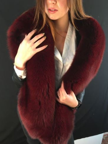 Image of Breeze Fox Fur Boa