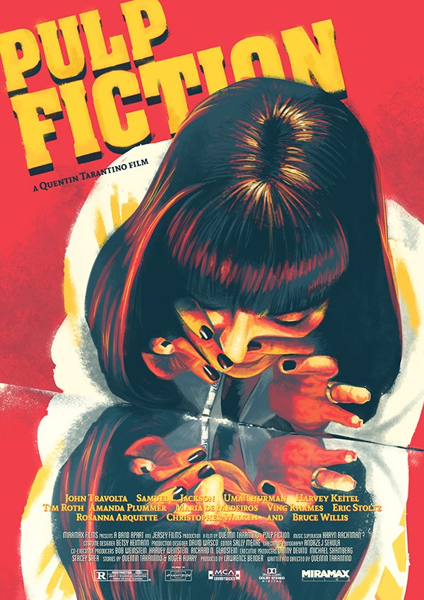 Image of Pulp Fiction - Mia Wallace