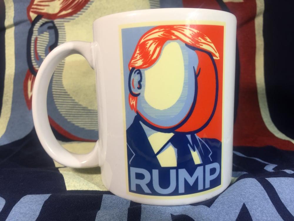 Image of RUMP 11oz Coffee Mug (Trump parody)