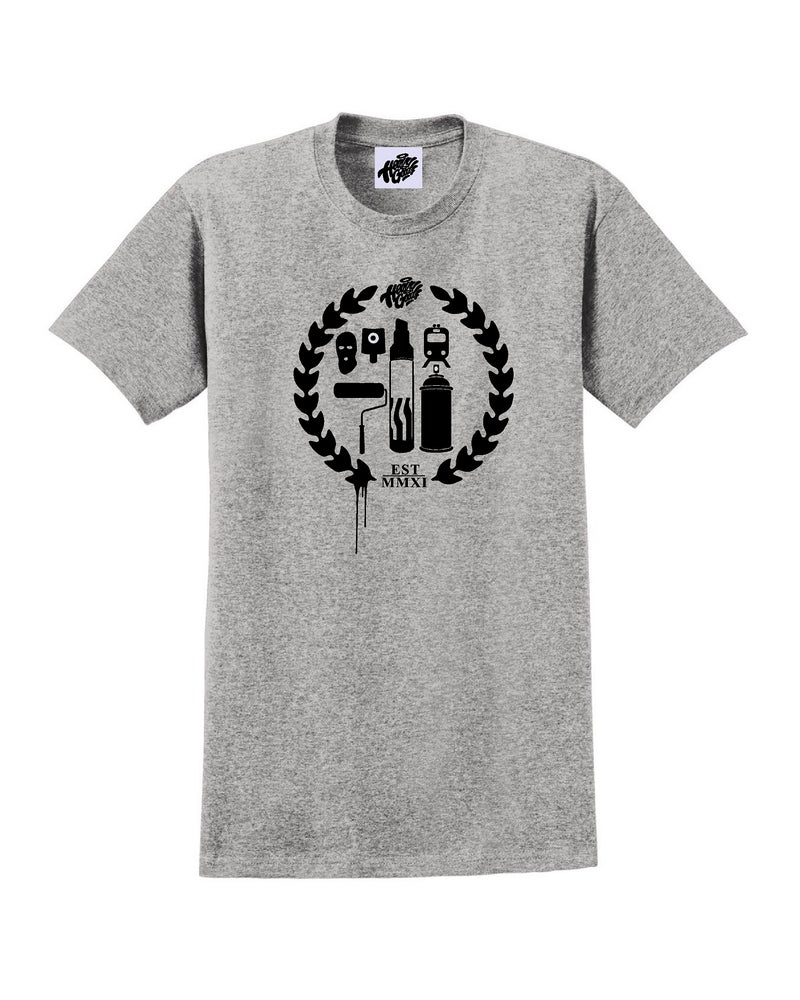 Image of Heavy Goods Crest Logo T-Shirt