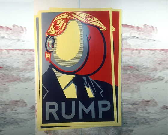 "Image of RUMP 11""x17"" poster"