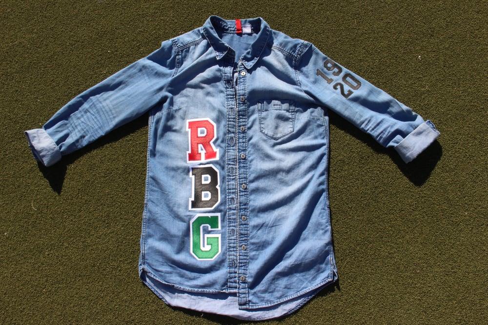 Image of Classic RBG Denim Squad Shirt