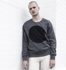 Image of GREY LABEL FLECKED LUNAR RAGLAN SWEATSHIRT