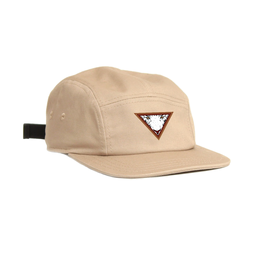 Image of EYE OF THE TIGER 5 PANEL OTTO HAT - KHAKI