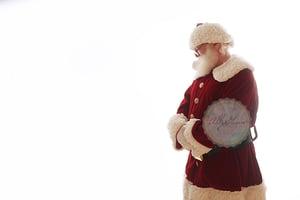 Image of All Santa Digital Backdrops