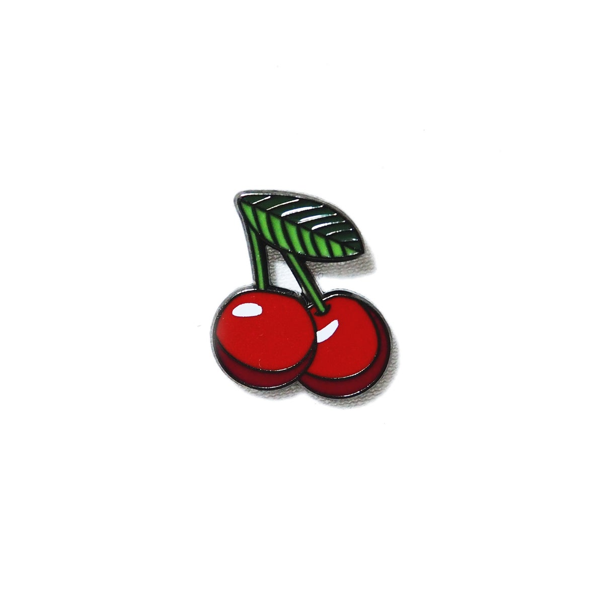 Image of Cherries - Emoji Pin