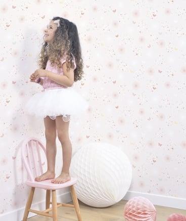 """Image of Papel pintado infantil """"Mariposas"""""""