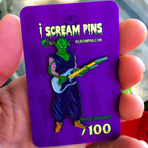 Image of Namekian Shred Pin