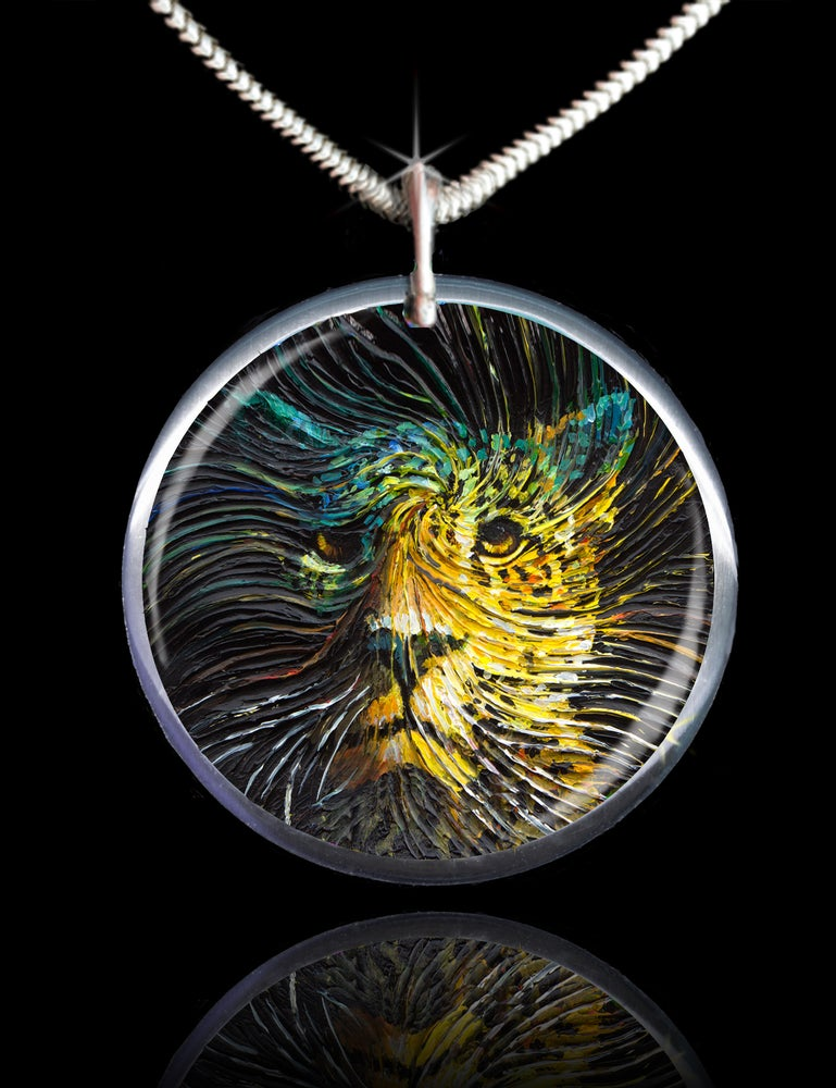 Image of Jaguar Spirit Energy Pendant