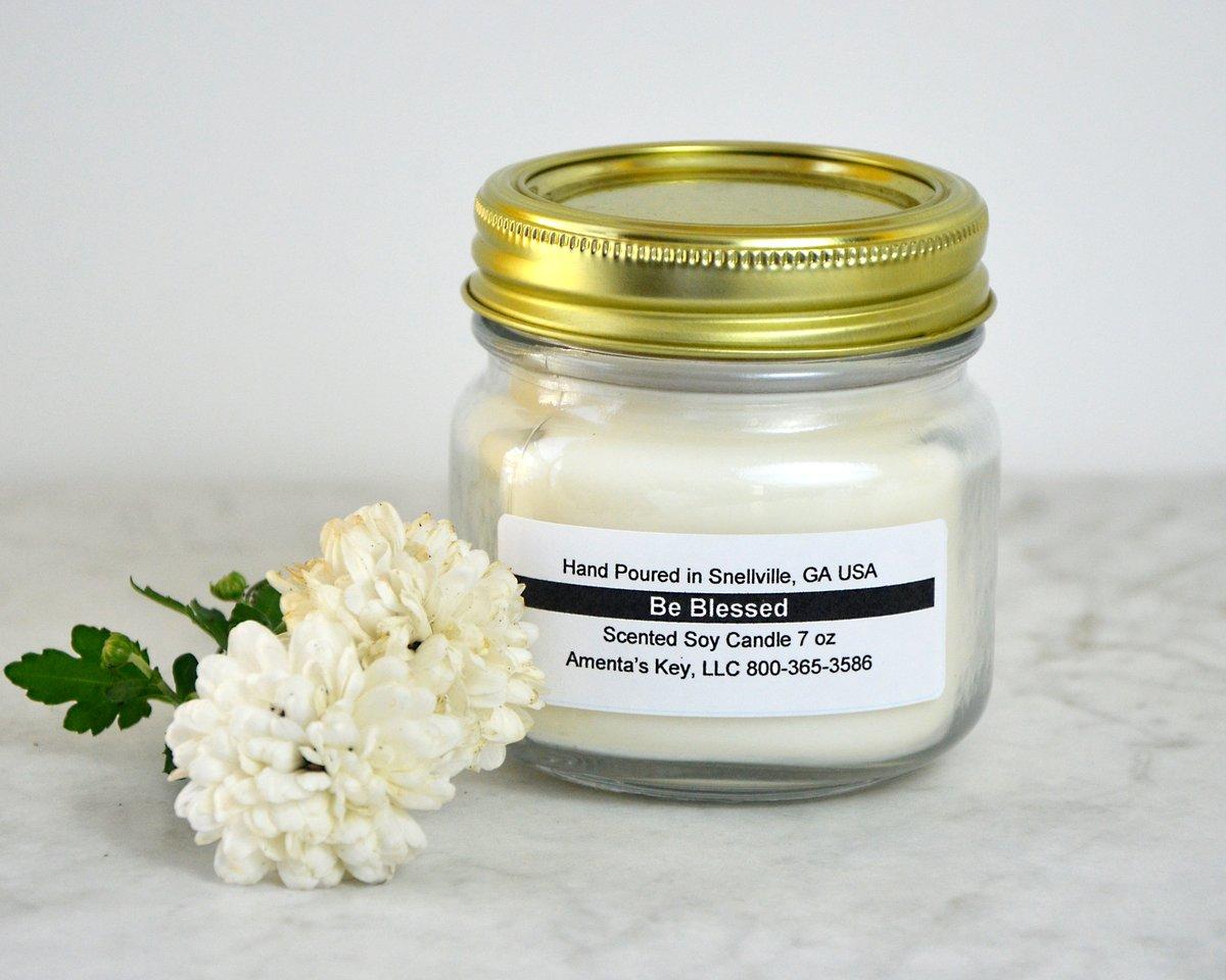 Image of 7 oz Mason Jar Candle