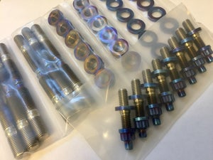 Image of JZ titanium exhaust manifold stud kit