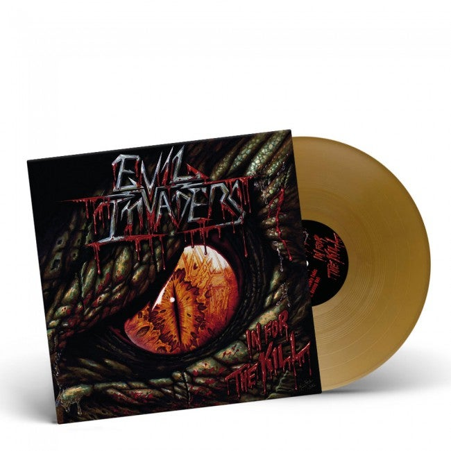 Image of In For The Kill EP - Gold vinyl - LIMITED 200 copies!!