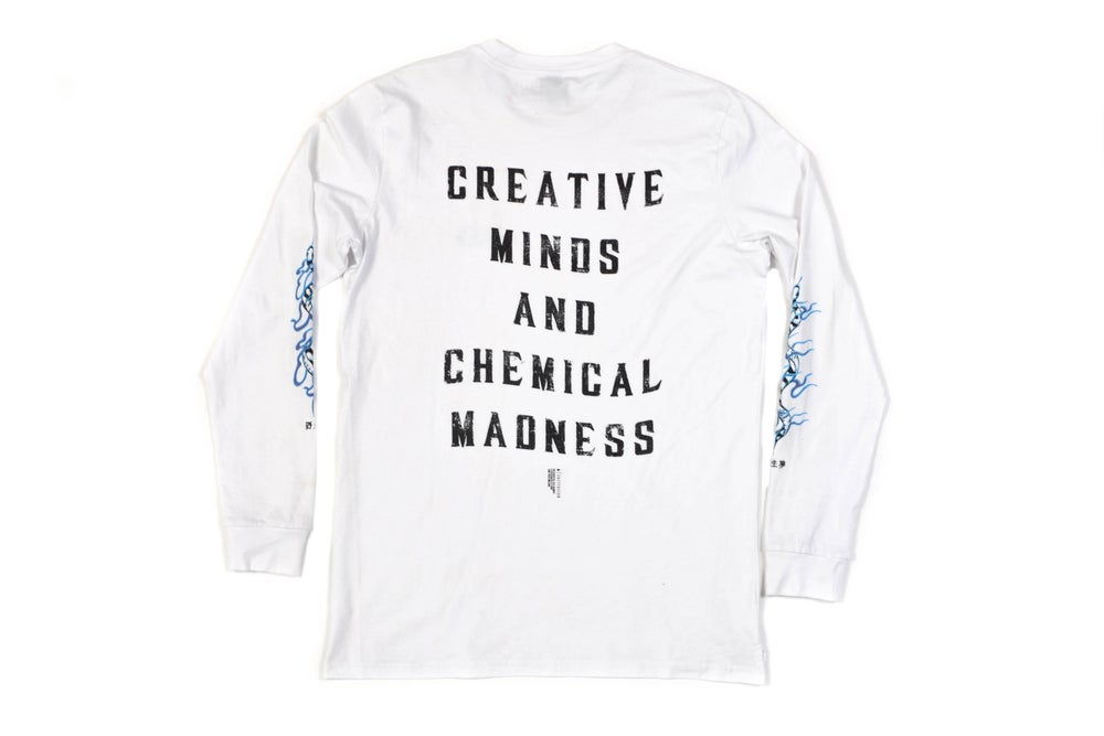 Image of Creative Minds L/S ~ white