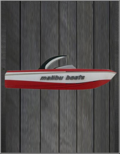 Image of Malibu Magnet - Red