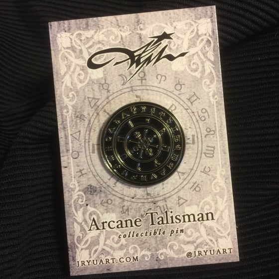 "Image of ""Arcane Talisman"" collectible pin"