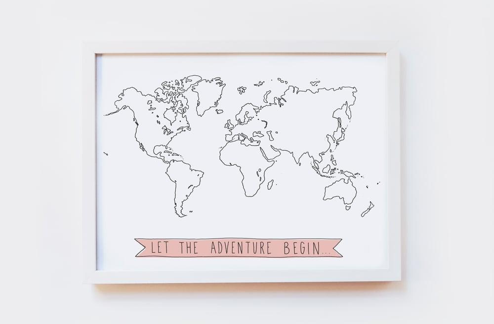 Image of Adventure Art Print