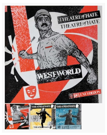 THEATRE OF HATE 'Westworld' DELUXE BOX SET