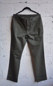 """Image of S&P-""""Proper Chino"""" Pants (Army Grn.)"""