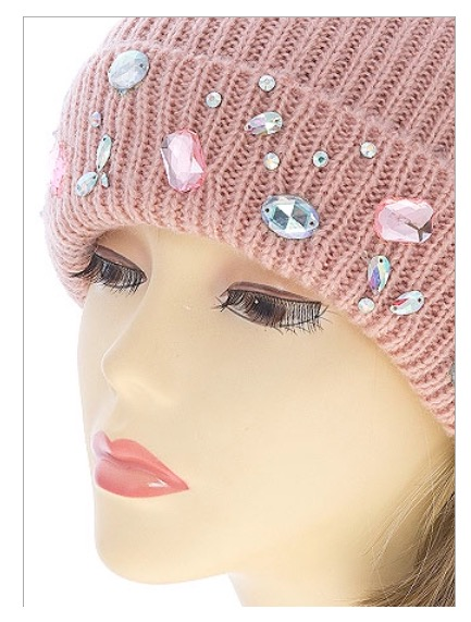 """Image of """"Crystal"""" beanie"""