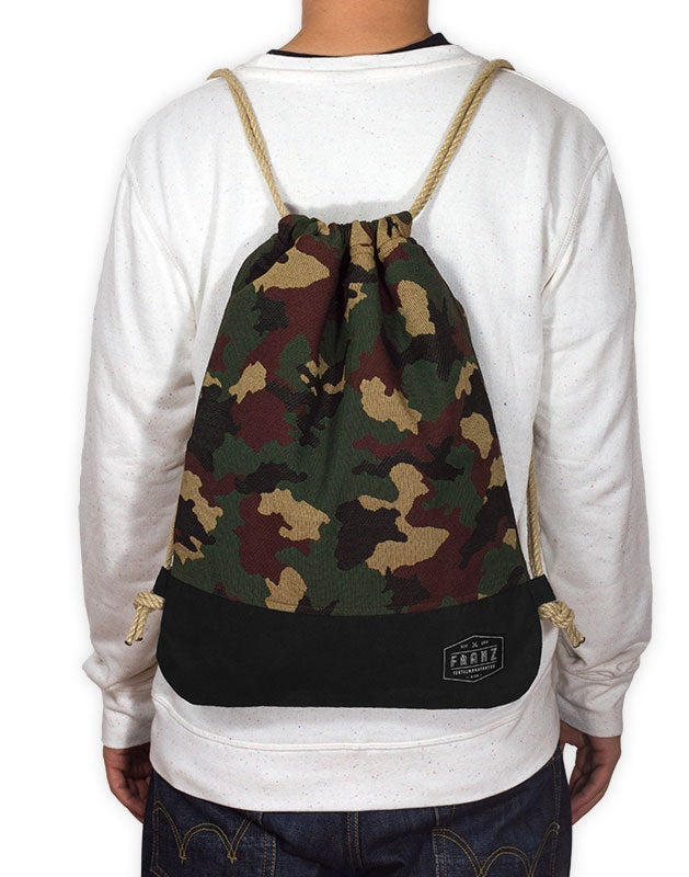 Image of Camouflage Gym Bag