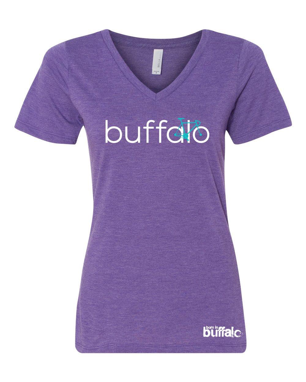 Image of BIKE Buffalo Ladies V-Neck