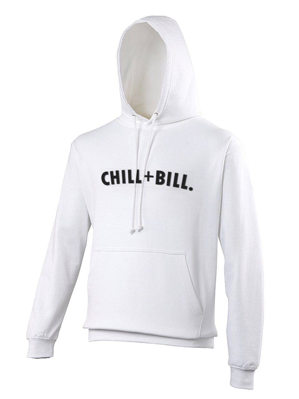 Image of Chill+Bill Hoodie in White