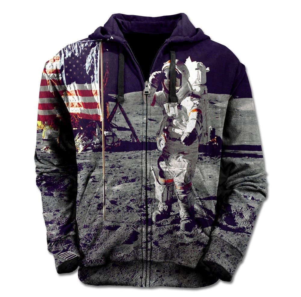 Image of Man On The Moon Zip Up