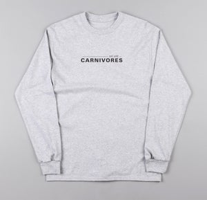 Image of Ash Grey Long Sleeve Tee