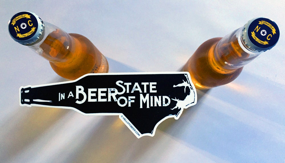 In a Beer State of Mind Sticker