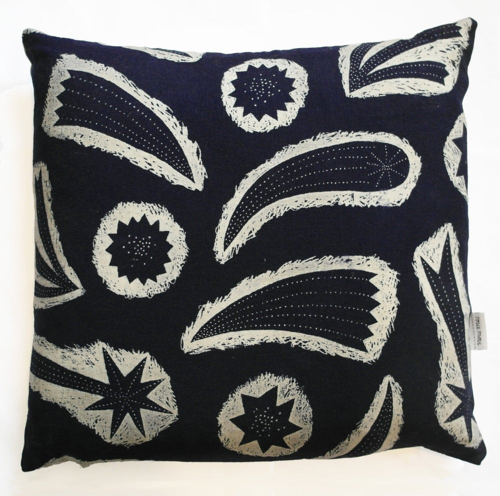 Image of 'Comets' Cushion